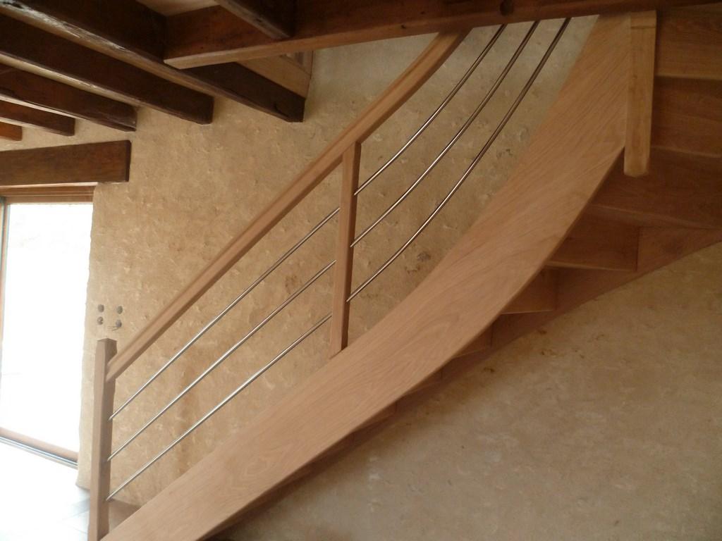 Escalier chêne
